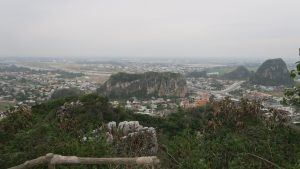 Da Nang, as viewed from the top of Marble Mountain