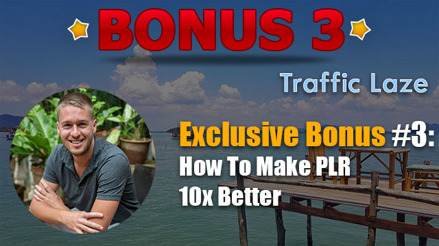 traffic laze review bonus 3