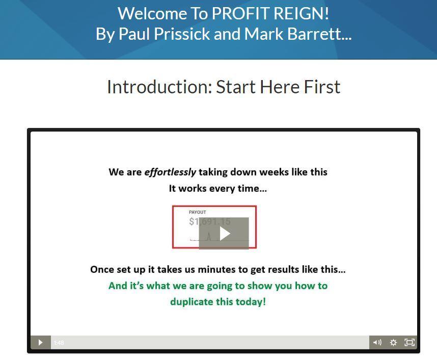 profit reign review 2