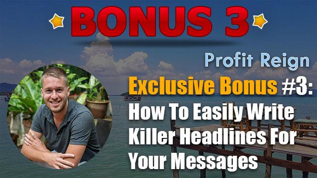 profit reign review bonus 3