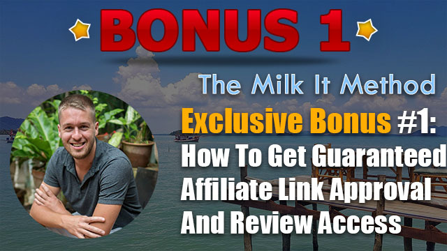 the milk it method review bonus 1