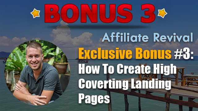 affiliate revival review bonus 3