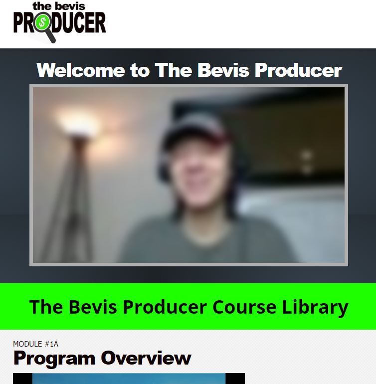 the bevis producer review members area