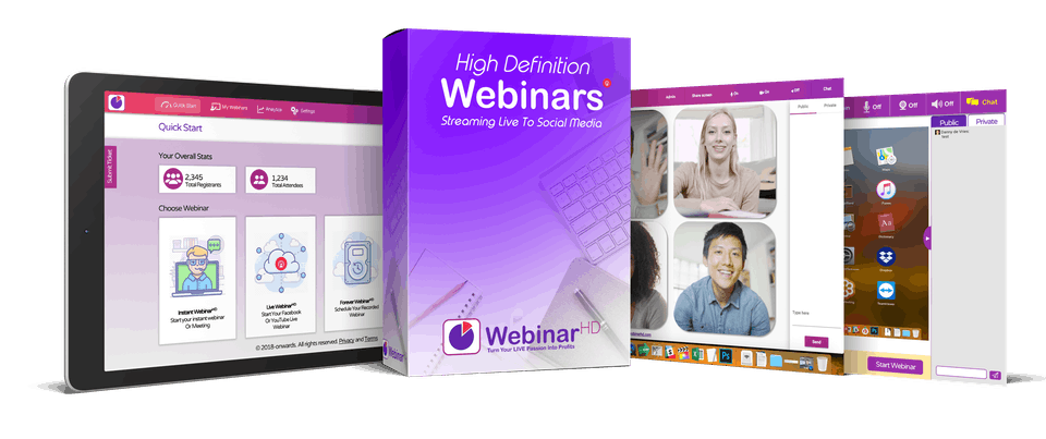 webinarhd review box
